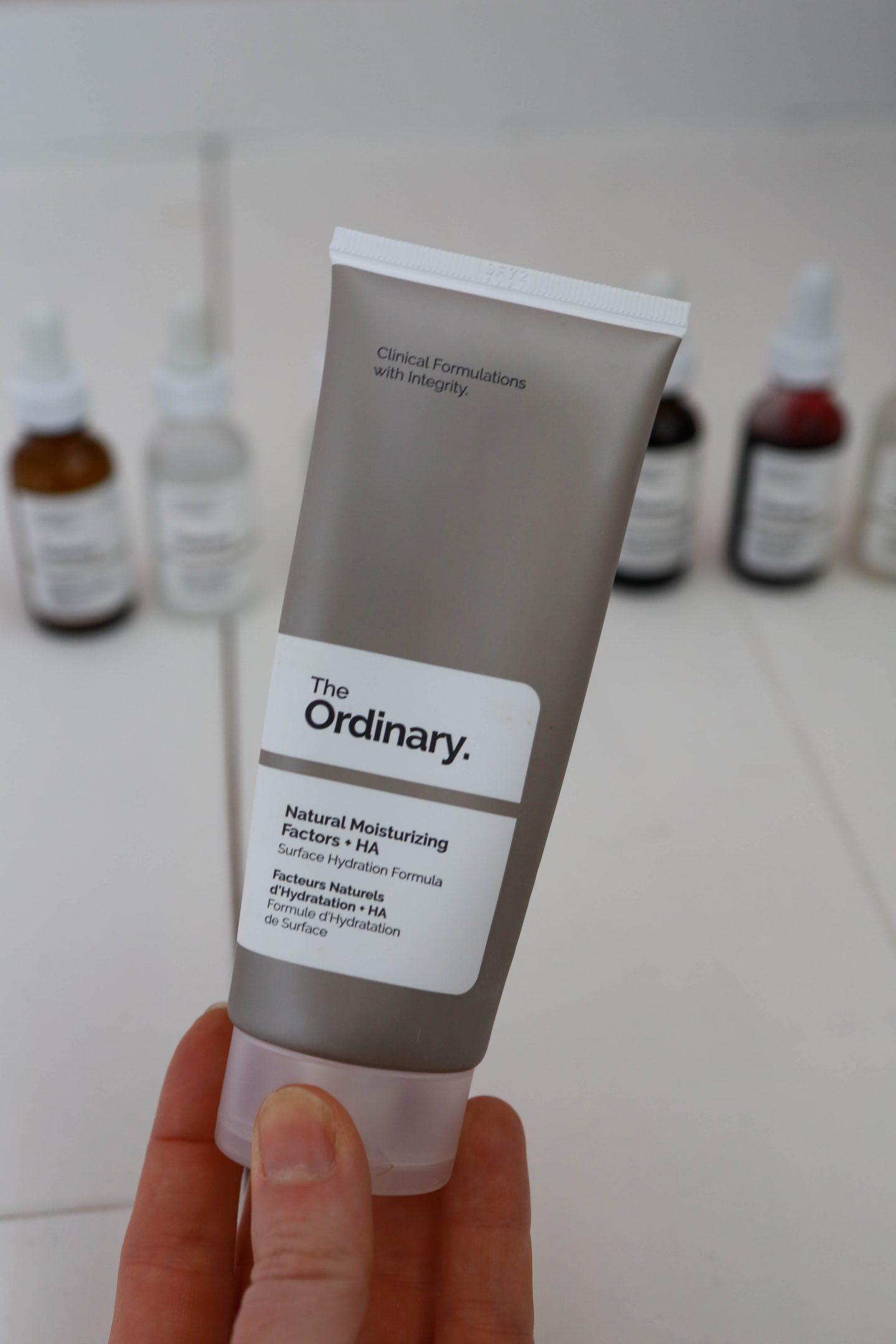 the ordinary moisturizer