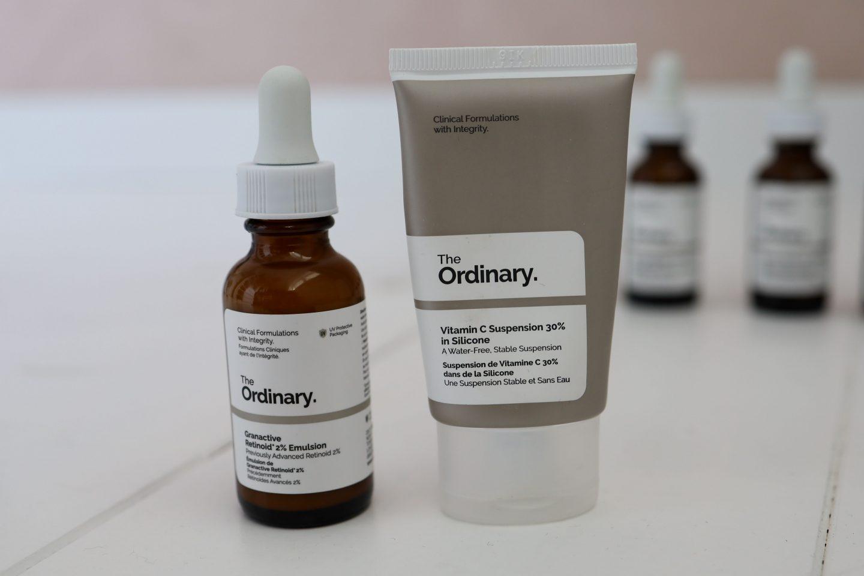the ordinary retinol en vitamine c