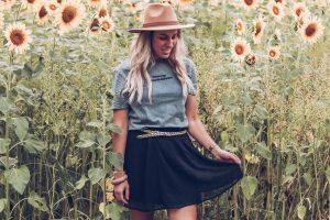 zonnebloemen outfit